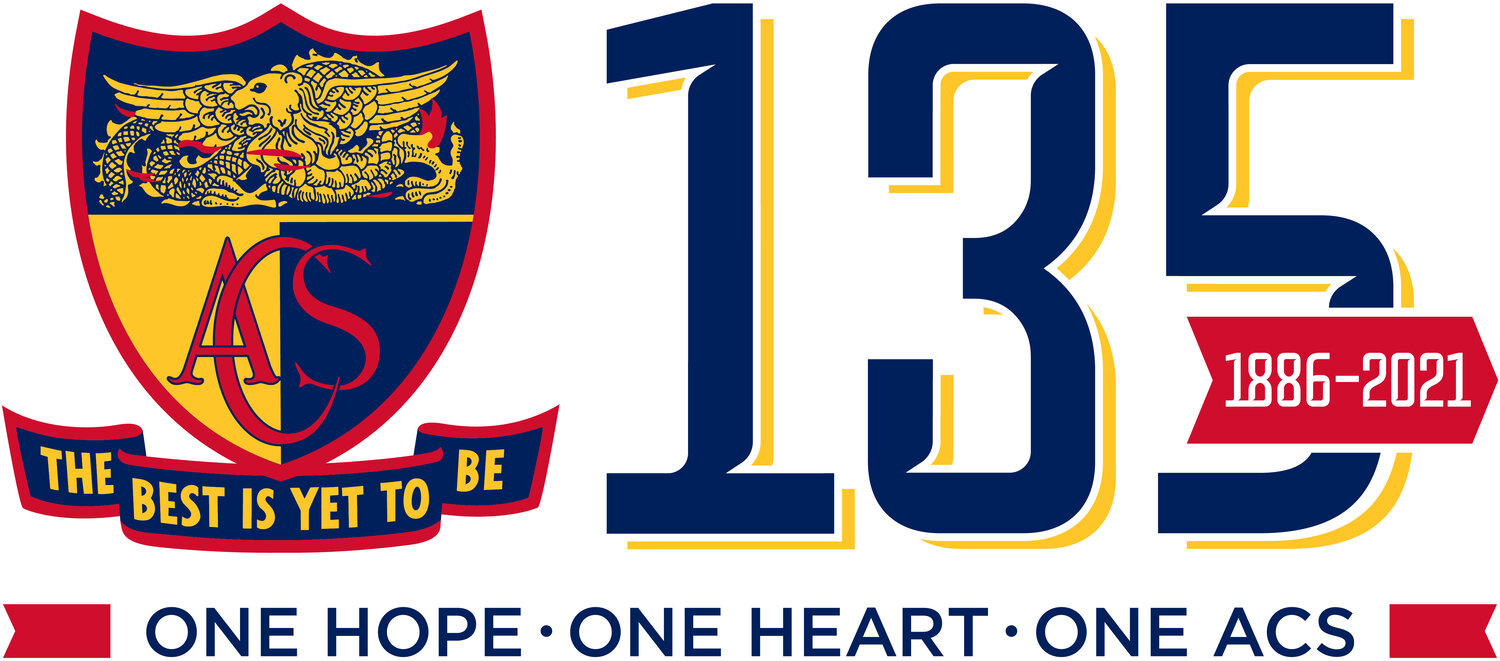 ACS135 Combined Thanksgiving Service - ONE HOPE, ONE HEART, ONE ACS