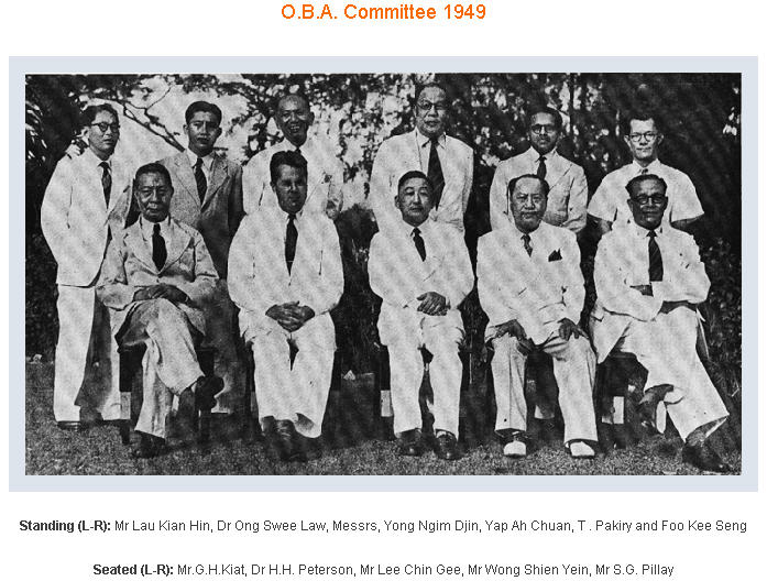 ACS OBA Management Committee Year1900s